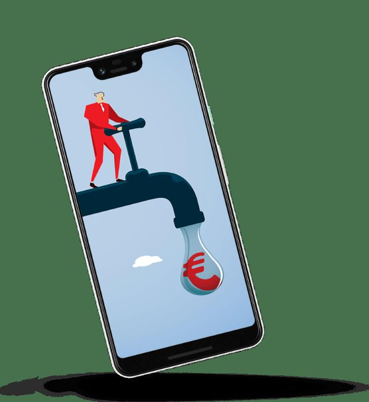 Meer-omzet-uit-online-marketing-smartphone